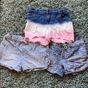 Lot of cat & Jack Girls Shorts, size 10-12